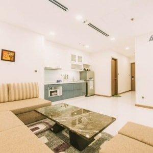 Cho thuê căn hộ dịch vụ ngắn hạn. Loại 1 phòng ngủ. Giá 60$/ngày (Park 1)