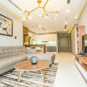 Cho thuê căn hộ dịch vụ ngắn hạn. Loại 1 phòng ngủ. Giá 80$/ngày (Park 6)
