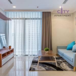 Cho thuê căn hộ dịch vụ ngắn hạn Vinhomes loại 1 phòng ngủ. Giá 60$/ngày (Ladmark 2)